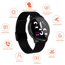 Fashion MK07 Smart Bracelet Sedentary Reminder Movement Tracking Blood Pressure Heart Rate Monitor Men's Smart Bracelet Health(China)