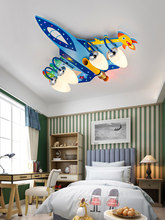 Spirit Aircraft Lamp Children The Real Aspiration Top Light Boy Bedroom Originality Northern Europe Concise Modern Cartoon Room(China)