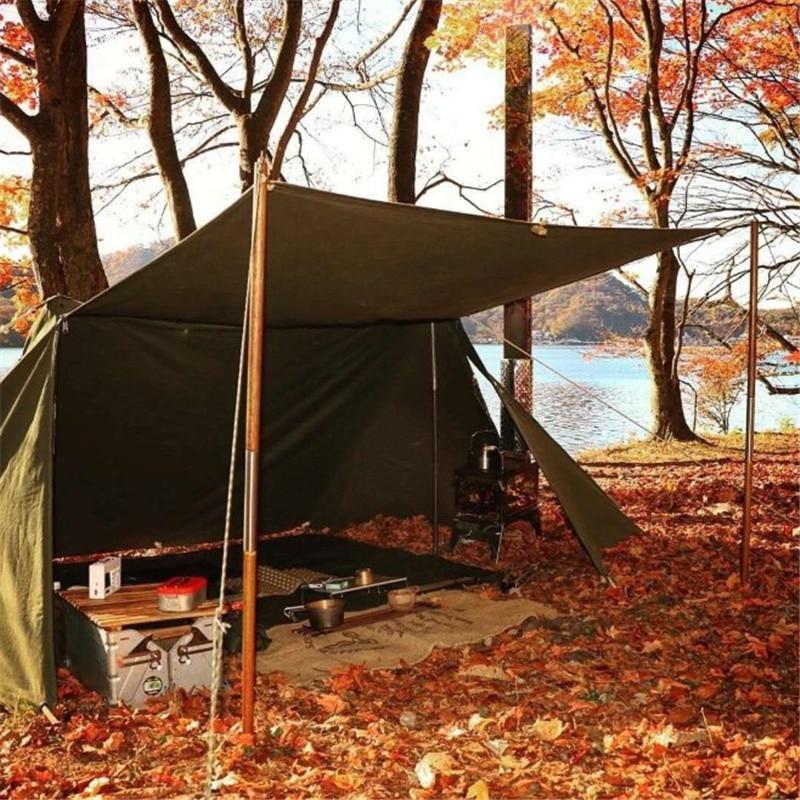 Наружная двойная палатка для кемпинга. Быстро построить палатку для удобного выживания, аварийные укрытия. Тактический Камуфляжный навес