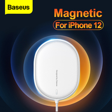 Baseus PD 15W Qi Magnetic Wireless Charger For iPhone 12 Pro Max Induction Wireless Charger Pad Fast Charging For Xiaomi Samsung