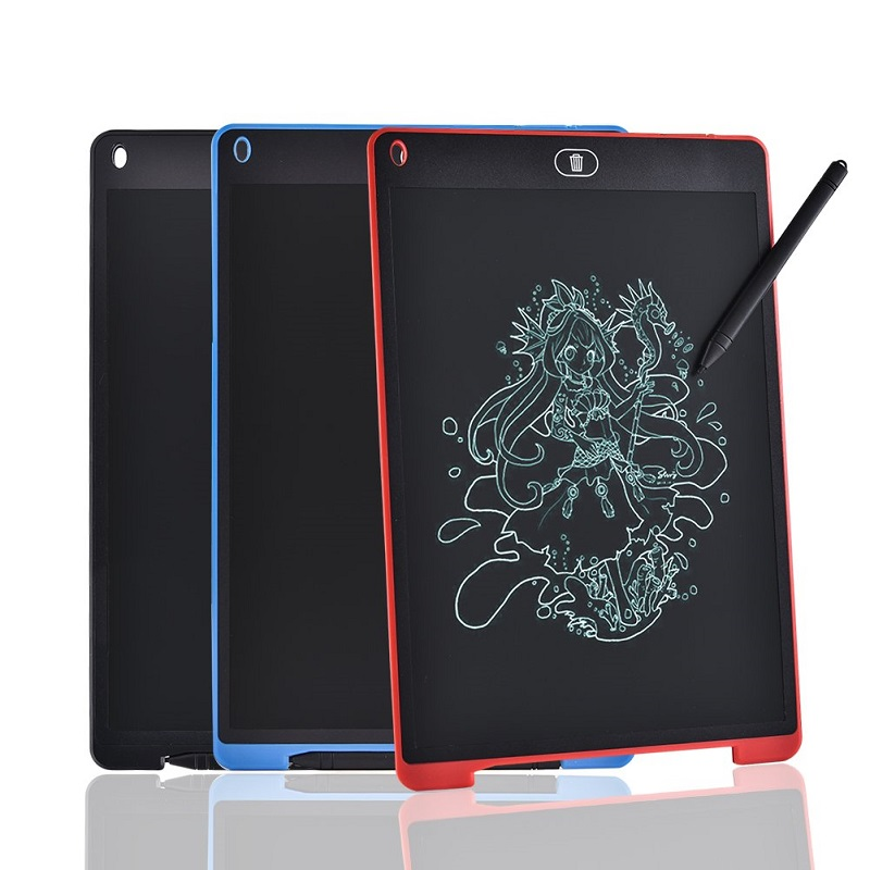 "LCD Writing Tablet Electronic Graphic Tablet For Drawing 12"" 8.5 "" Art light Drawing Board Digital Tablet to Drawing Pad"