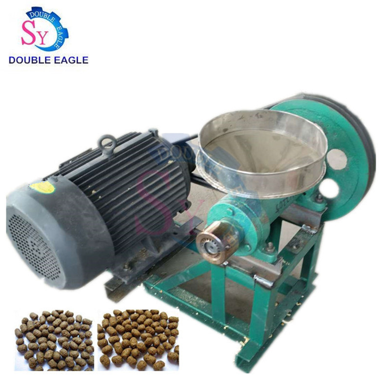 Wholesale Price Cheap Household Electric Puffed Fish Shrimp Bullfrog Crab Feed Extruder/floating Fish Feed Pellet Making Machine