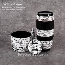עדשת עור מדבקות עבור Canon EF100 400 f/4.5 5.6L הוא II USM נגד שריטות מדבקה לעטוף סרט מגן כיסוי Case