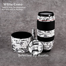Lens Skin Decal Voor Canon EF100 400 F/4.5 5.6L Is Ii Usm Anti Kras Sticker Wrap Film protector Cover Case