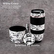 Naklejka na skórę obiektywu do Canon EF100 400 f/4.5 5.6L IS II USM naklejka na zarysowania folia owijająca obudowa ochronna