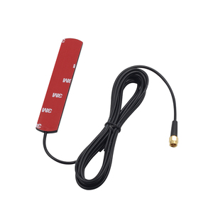 Image 1 - 20pcs 1.5m cable 3dBi 4G glue antenna with SMA male External Full frequency high gain for Vehicle communication