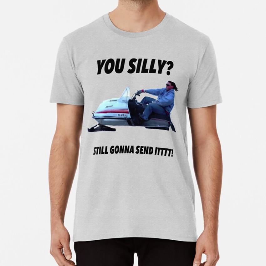 Larry Enticer Meme Snowmobile T-shirt Still Gonna Send It Shirt Send It Tshirt
