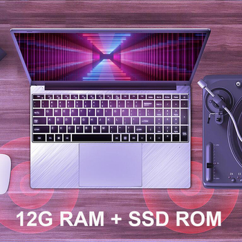 15.6 inch 12G RAM 128G/256G/512G/1TB SSD With 1920*1080 IPS Screen Fingerprint recognition Backlit Keyboard Laptop