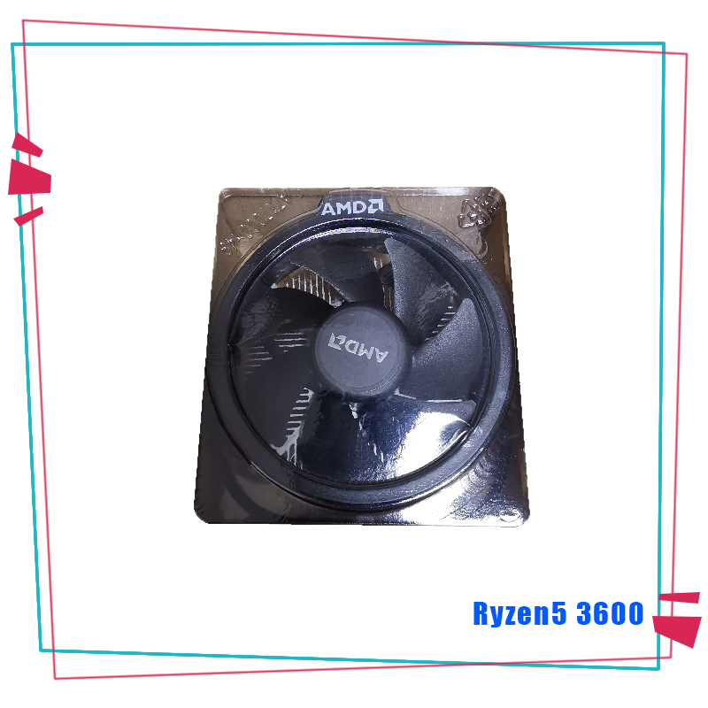 Image 4 - NEW AMD Ryzen 5 3600 R5 3600 3.6 GHz Six Core Twelve Thread CPU Processor 7NM 65W L3=32M 100 000000031 Socket AM4  With FanCPUs   -