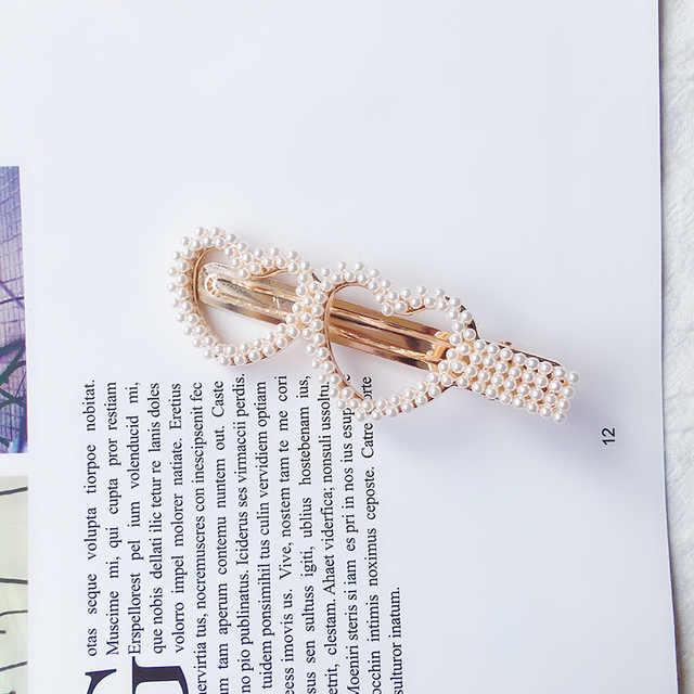 Coiffure pour femmes perle étoile enfants cheveux accessoires fille mode cadeau couronne coeur arc charme épingle à cheveux Barrette nouveau