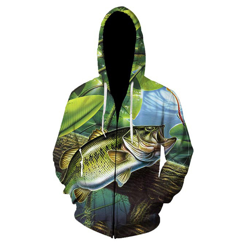 Outdoor Winter Warm Fishing Clothing Cycling Sport Couple Sweater Coat Leisure Long Sleeve Zipper Hooded Jacket Fishing Clothes