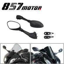 Espelhos retrovisores para bmw s1000rr s1000 rr 2010-2018 hp4 2011 2012 2013 2014 2015 motocicleta espelhos retrovisores laterais preto