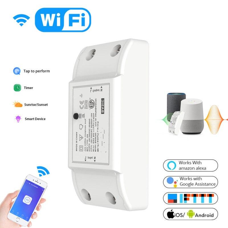 Module de commutateur sans fil WiFi maison intelligente pour Apple Android APP commutateur de télécommande maison intelligente pour ITEAD