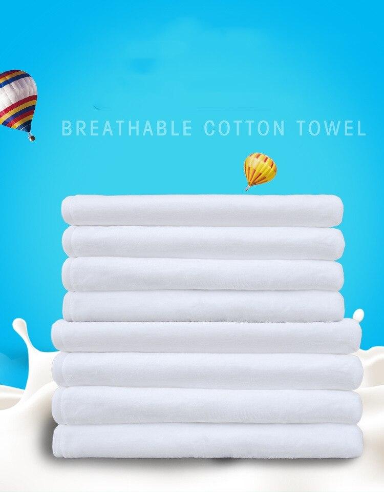 o envio gratuito de 10 pcs lote novo estilo sublimacao em branco terylene macio absorvente towel40