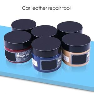 Image 2 - Car Care Kit Liquid Leather Skin Refurbish Repair Tool Auto Seat Sofa Coats Holes Scratch Cracks Restoration For Shoe For Car