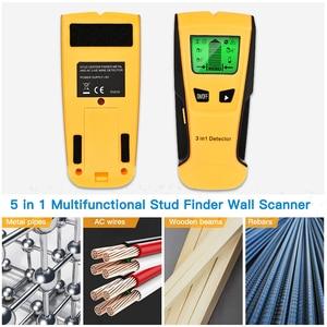 Image 5 - Vastar Detector de Metales 3 en 1, detecta tacos de madera, Metal, voltaje CA, cable en vivo, escáner de pared, Detector de caja eléctrica, Detector de pared