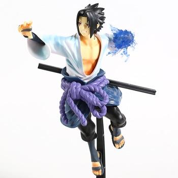 Figura de Sasuke Uchiha lanzando un Chidori de Naruto Shippuden (25cm) Figuras de Naruto Merchandising de Naruto
