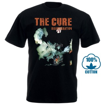 цена на The Cure Disintegration Cd Logo T-Shirt Indie Smiths New Order Arctic Monkeys B