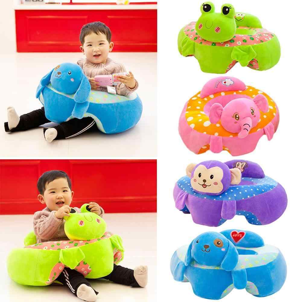 Baby Feeding Chair Baby Seats Sofa Toys Portable Cartoon Animal Seat Support Seat Kids Plush Toy Baby Sofa 2020 New