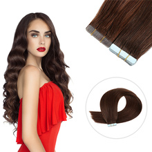 Human Hair Tape Extensions 12