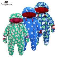 Tasfiye satışı Orangemom kış ceket kızlar için mont dış giyim, bebek bebek snowsuit, bebek kar giyim