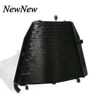 For Honda CBR1000RR CBR1000 RR CBR 1000 RR 2006 2007 Motorcycle Part CNC Aluminium Cooling Water Cooler Radiator Black