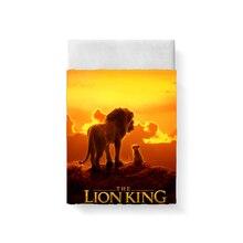 купить The Lion King Bed Sheet Bed Linen Poplin Cotton Posciel Edredones De Cama Couple Single Euro Kids Twin Xl Bedding Child Queen 3D дешево