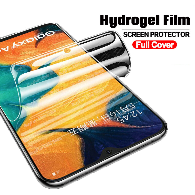 100D Hydrogel Protective Film On For Samsung Galaxy A30 A30S A50S Screen Protector For Samsung A40 A50 A 30S 50S 30 40 50 Film