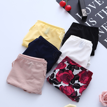 GERRITA 3pcs Women Sexy Panties Underpants 6 Colors micro and lace trimmin For Female Seamless Ladies Underwear