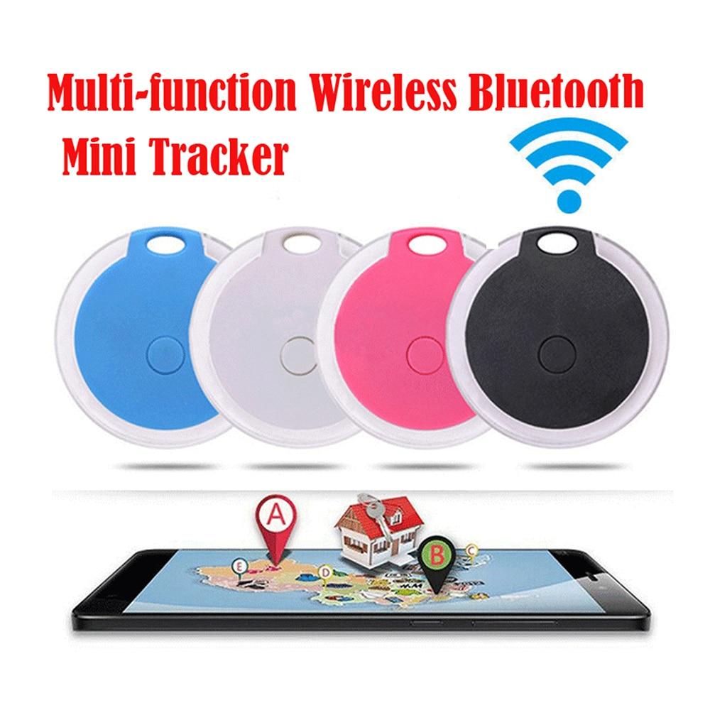 Pets Smart Mini GPS Tracker Anti-Lost Waterproof Bluetooth Tracer For Pet Dog Cat Keys Wallet Bag Kids Old Man Trackers Finder