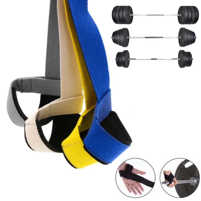 Pro Gym Training Weight Lifting Powerlifting Hand Wraps Wrist Strap Support New Y51D