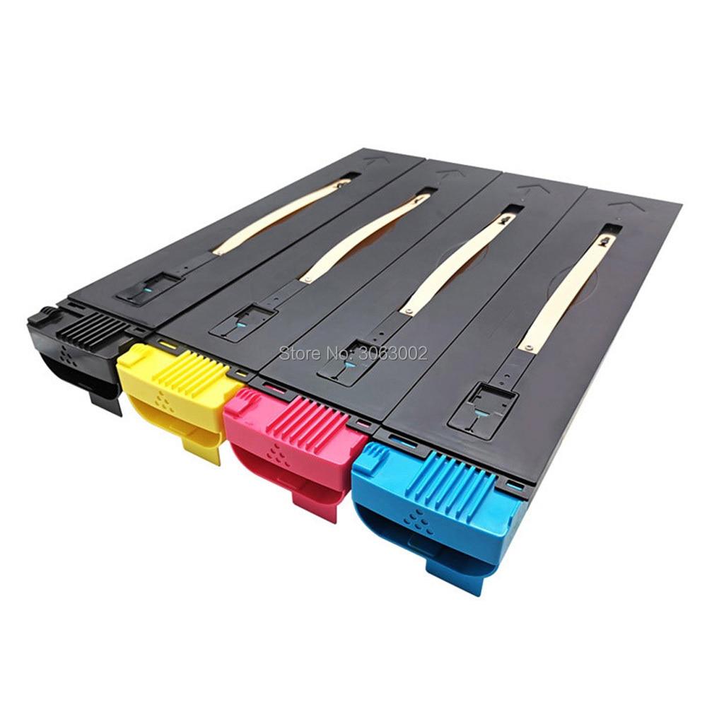 MISEE 4pc Cartucce di Toner Compatibile per Xerox DocuColor 240/242/250/WorkCentre 252/260 7655/7665/7675/7755/7765/7775 30k/34k
