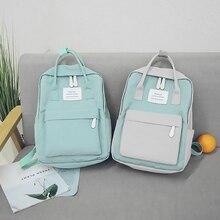 Fashion Women Backpack Waterproof Canvas Travel Backpack Female School Bag For Teenagers Girl Shoulder Bag Bagpack Rucksack 2019