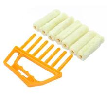 Microfiber Window cleaning brush Venetian Blind Cleaner Brush Easy Cleaning Tool Washable Duster Blinds blade cloth
