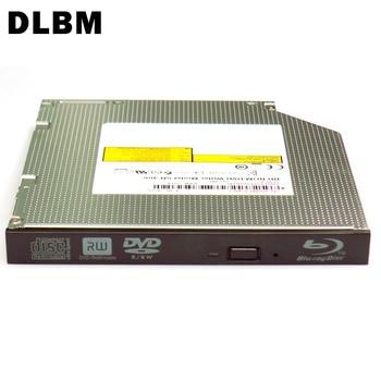 цена на DLBM Slim Blu-ray DVD Writer Internal SATA CD DVD-RW Optical Drive DVD Burner Dual Layer 8X DVD RW 24X CD-R Writer Laptop