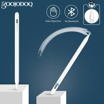 GOOJODOQ Stylus Pencil for iPad with Palm Rejection, Active Pencil Pen for Apple Pencil 2 1 iPad 10.2 2019 2020 Pro 11 Air 4