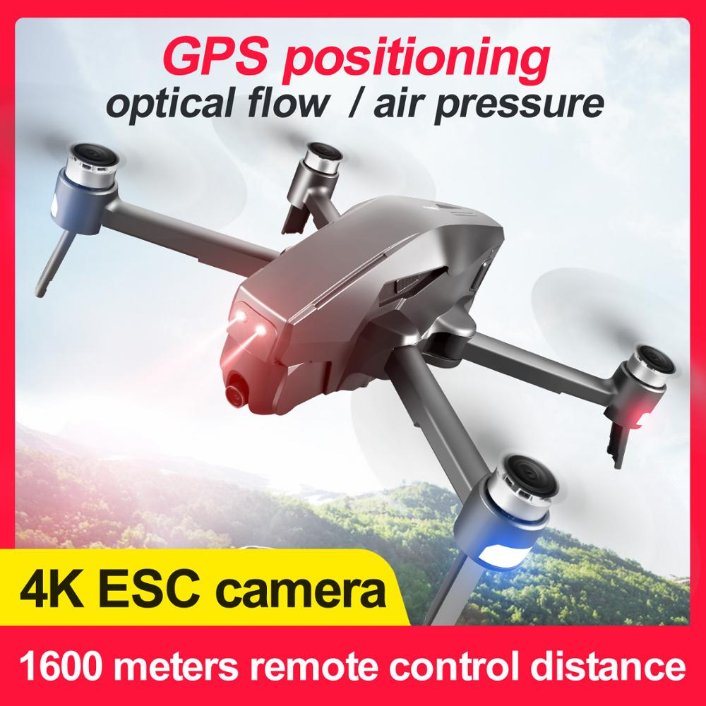M1 Drone GPS Quadcopter With 4K HD Camera 1.6KM WIFI Live video 1.6KM control distance Flight 25 minutes drone with Camera Dron image