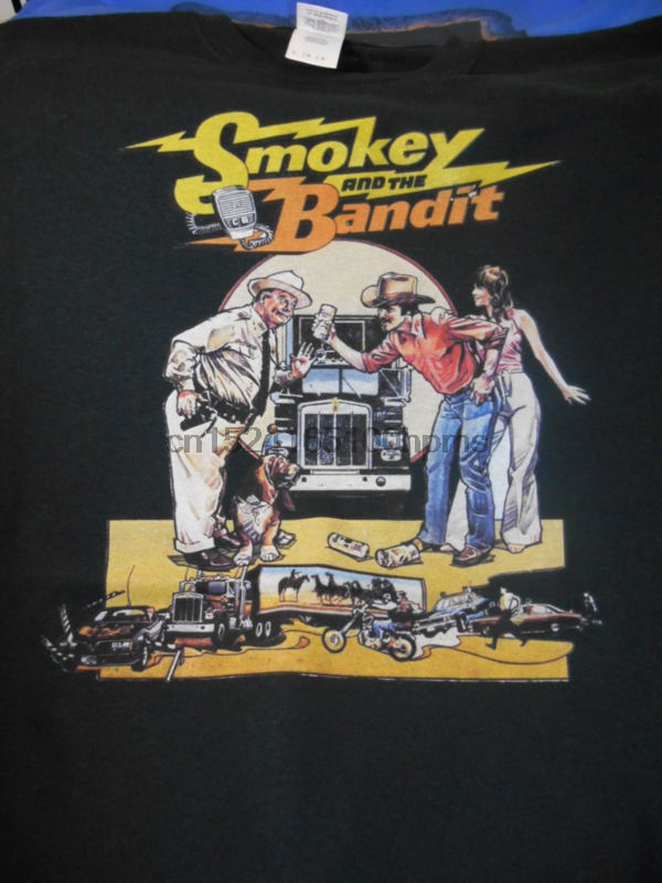 Smokey And The Bandit T Shirt Comedy Trans Am Jerry Reed Burt Reynolds Car T Shirts Aliexpress