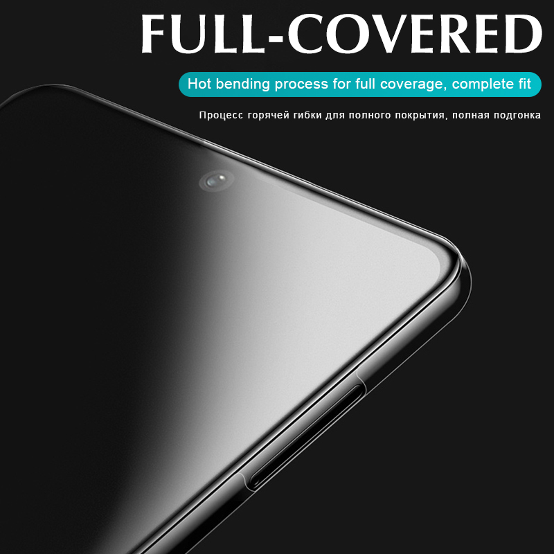 Front+Back Protector Hydrogel Film Full Cover For Xiaomi Redmi Note 9 8 7 Pro Max 8T 9S 7A 8A K30 Pro Screen Protector Not Glass 5