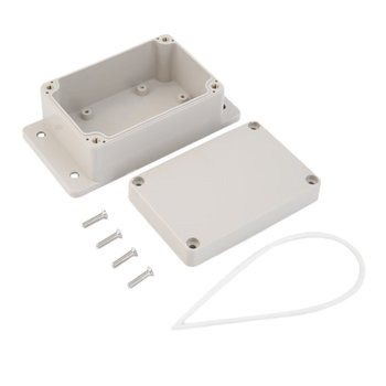 Waterproof 100 x 68 x 50mm Plastic Electronic Project Box Enclosure Case DIY Enclosure Instrument Case waterproof abs plastic electronic box white case 6 size