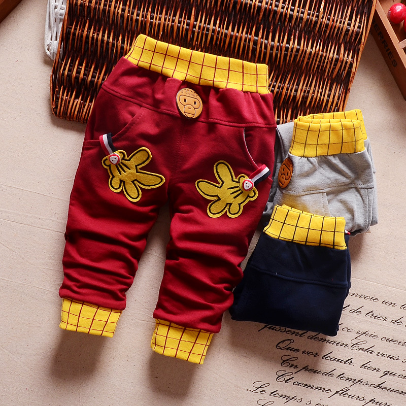 IENENS 0-3Y Baby Toddler Boys Trousers Kids