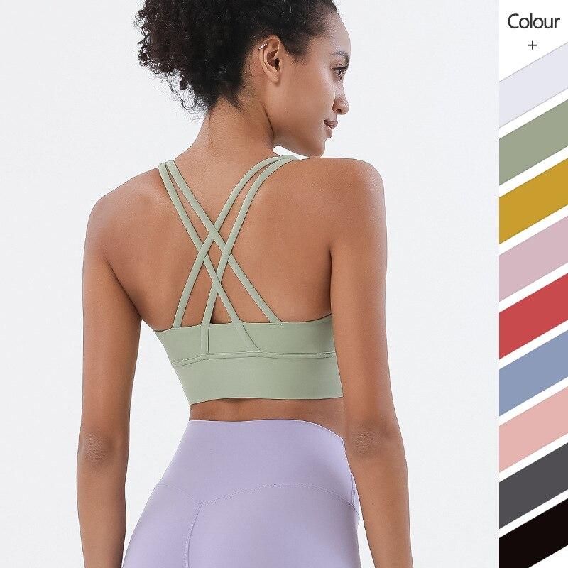 Wyplosz Sports Bra Cross Gym Sports Top Sexy Sports Bra For Women Gym Crop Top Sports Underwear Bralette Crz Yoga Fitness Vest