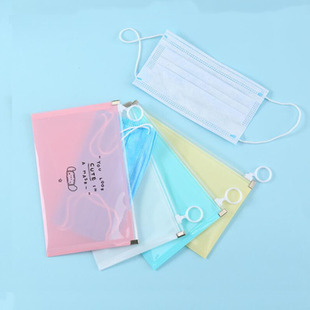 1PCS Travel Foldable Mask Clip Package Bags Case Recycling Mask Holder Container Bags