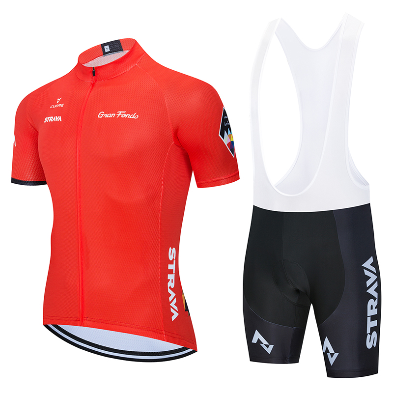 Summer Cycling Jerseys 2020 Strava Men Team cycle <font><b>Wear</b></font> Short Sleeve <font><b>Bike</b></font> Clothing Maillot Ropa Ciclismo Uniformes Biking Clothes image