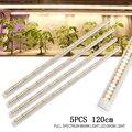 5 шт./лот 120 см Светодиодная лампа для выращивания растений T8 трубчатая лампа для выращивания растений полный спектр гидропонная Светодиодн...