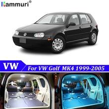 13X ошибка Светодиодная лампа для освещения салона автомобиля Комплект посылка для Volkswagen VW Golf 4 mk4 аксессуары для чтения внутренний светильник s