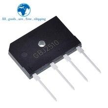 5pcs 25A 1000V diode bridge rectifier gbj2510 ZIP In Stock