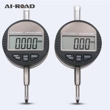 0-12,7 мм Электронный микрометр 0,01 мм и 0,001 цифровой микрометр циферблат индикатор глубина измерительные инструменты