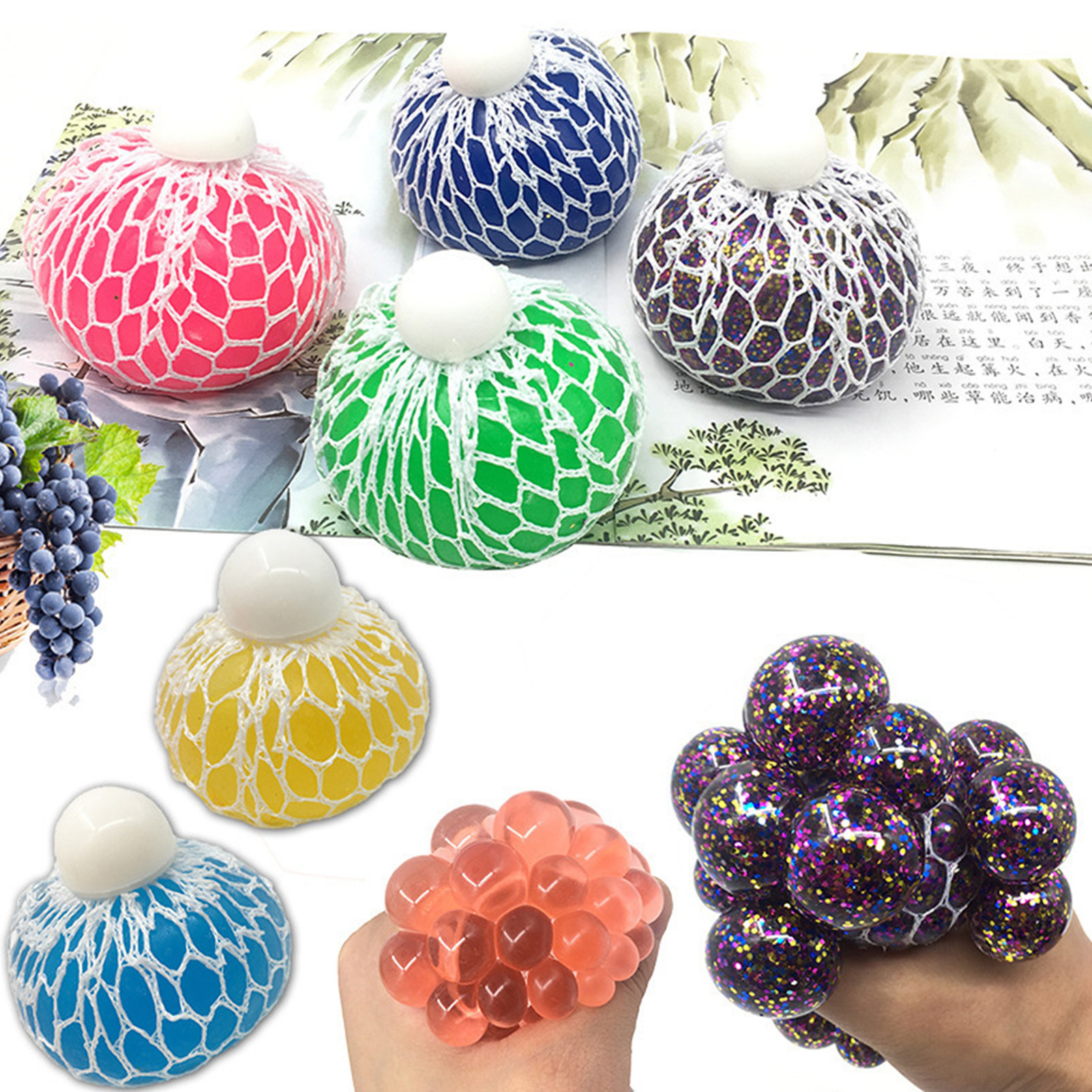22 Pack Fidget Toys Stress Relief Toys Autism Anxiety Relief Stress Pop Bubble Fidget Sensory Decompression