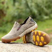 BACKCAMEL New Spring and Autumn Outdoor Leisure Sports Mens Shoes Breathable Non-slip Footwear Slip-on Lace-up Vulcanized shoes